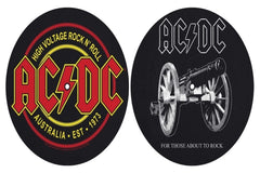 AC/DC - For Those About To Rock / High Voltage - Slipmat Set
