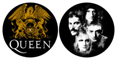Queen - Crest & Faces - Slipmat Set