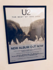 U2 - The best of 1990-2000 - Poster