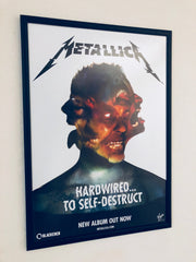 Metallica - Hardwired To Self-Destruct - Poster