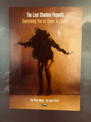 Last Shadow puppets - Everything you've come to expect  - Poster