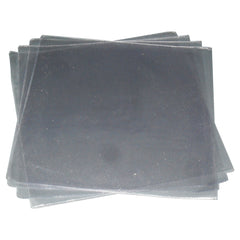 "Single 7"" Transparent Plastic Cover PVC"