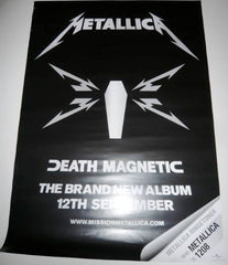 Metallica - Death Magnetic - Poster.