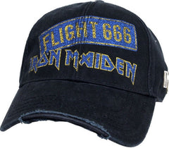 Iron Maiden - Baseball Cap Flight 666