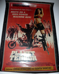 Planet Terror - poster.