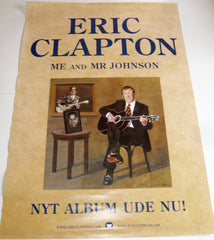 Clapton, Eric - Me And Mr. Johnson - Poster.
