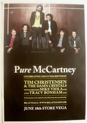 Christensen, Tim & The Damn  Crystals - Pure McCartney - Poster.