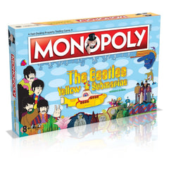 Beatles Yellow Submarine MONOPOLY Board