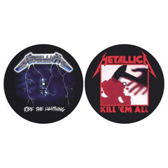 Metallica - Kill Em All & Ride The Lightening -Slipmat Set