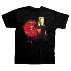Monty Python's Flying Circus - Tis But A scratch - T- Shirt.