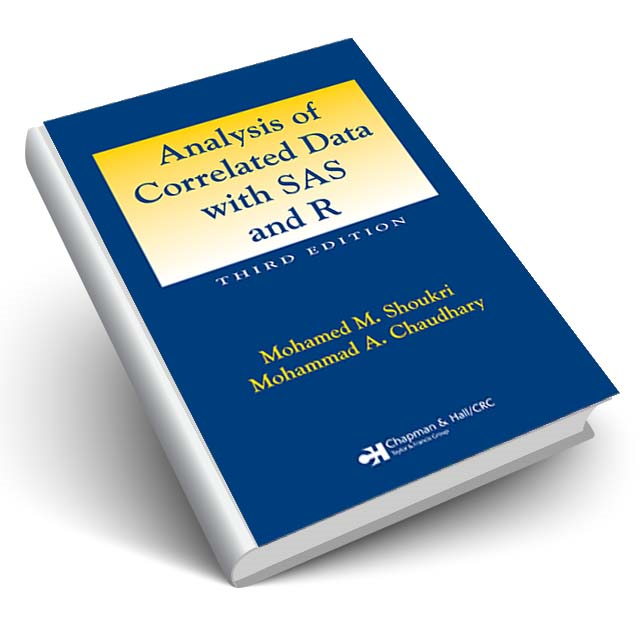 Analysis of Correlated Data with SAS and R, Third Edition