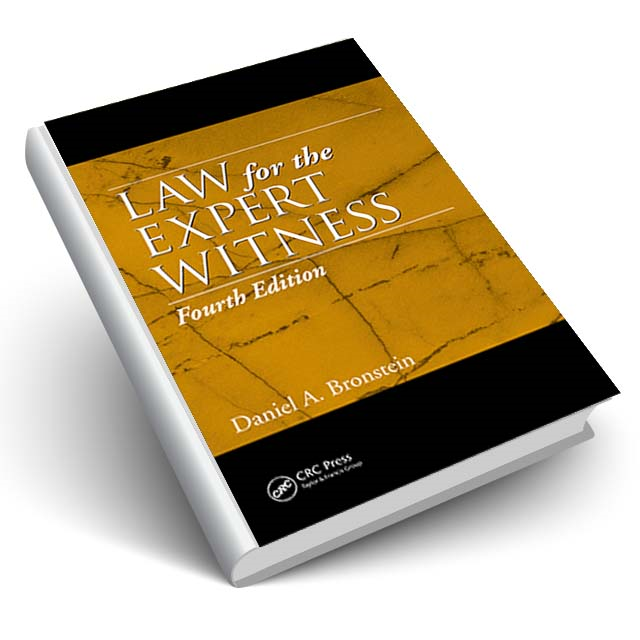 Law for the Expert Witness, Fourth Edition