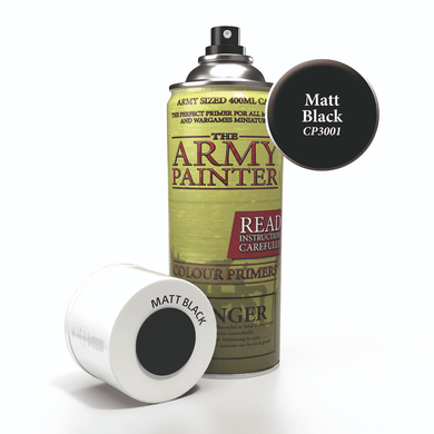 Base Primer - Matt Black