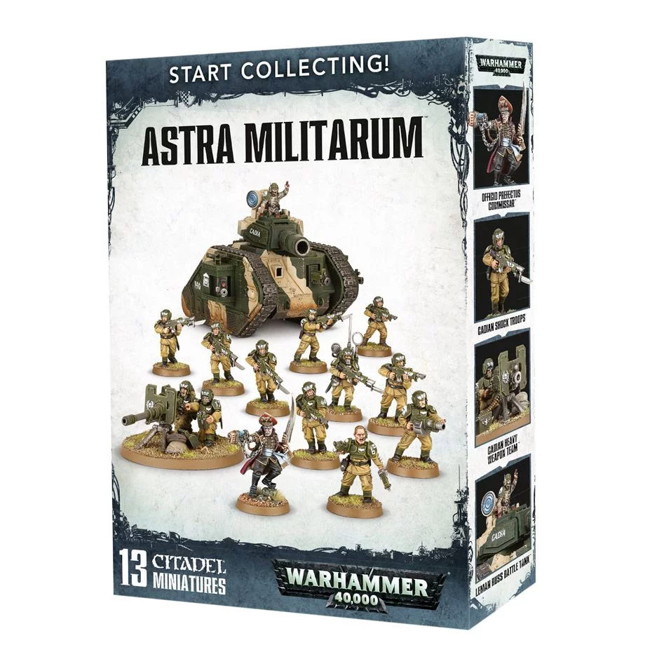 Start Collecting! Astra Militarum 2017 (70-47)