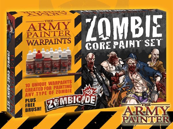 Zombicide - Zombie Core Paint Set