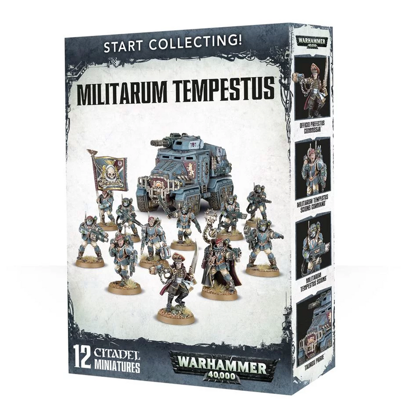 Start Collecting! Militarum Tempestus 2017 (70-54)