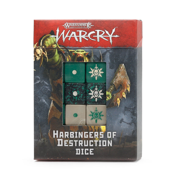 Harbingers Of Destruction Dice (111-75) (Warcry)