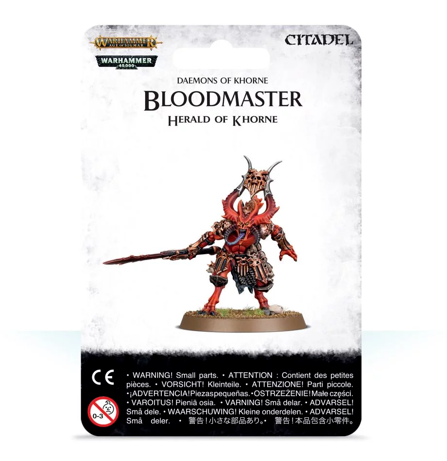 Blood Master Herald of Khorne (97-62)