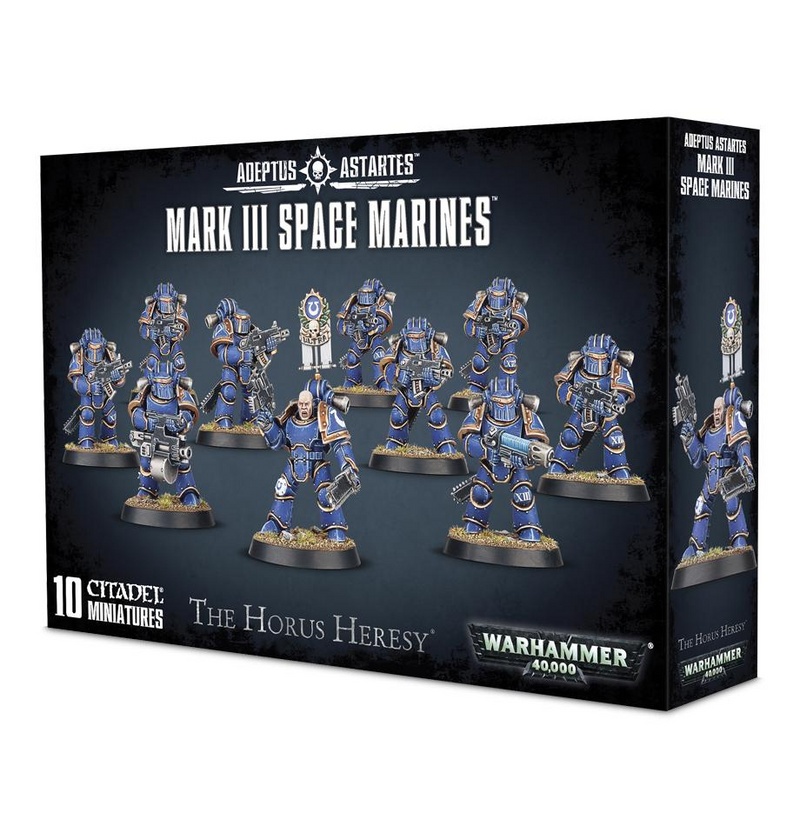Mark Iii Space Marines (01-05)