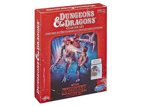 Dungeons and Dragons Starter Set - Stranger Things Edition