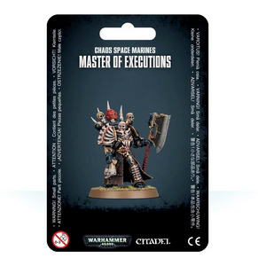 Chaos Space Marines Master of Executions (43-4)