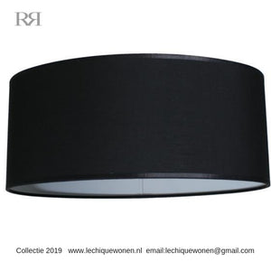 Shade Oval 50 cm Black Velvet