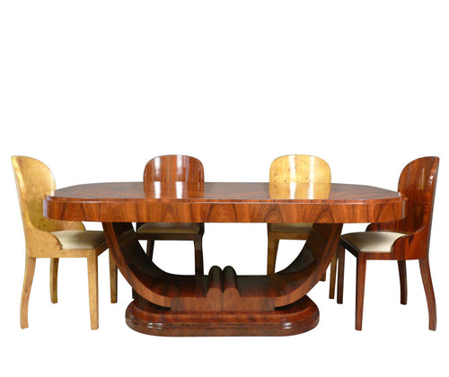 Art deco dining room table palisander