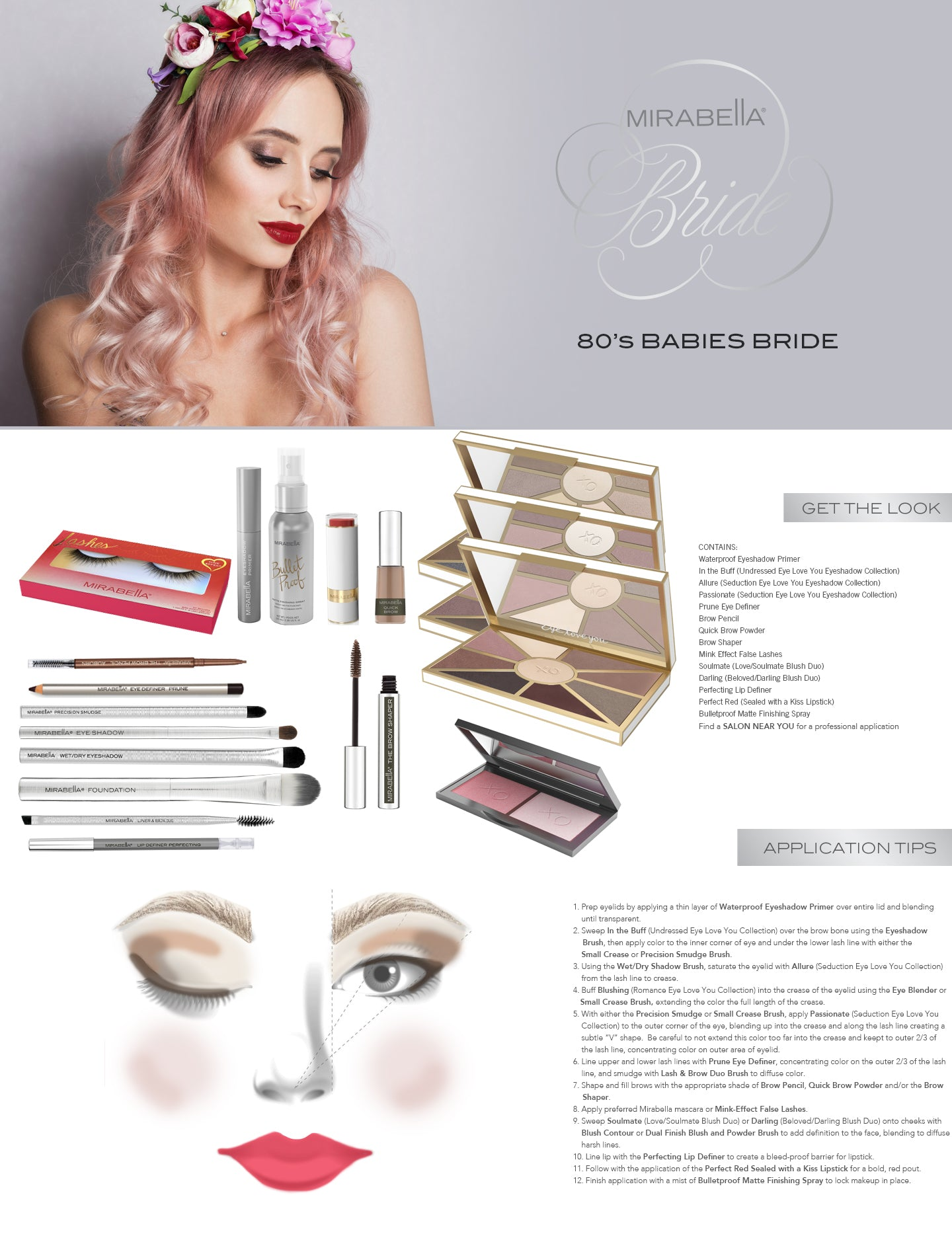 80's Baby Bride, Mirabella Beauty Cosmetics