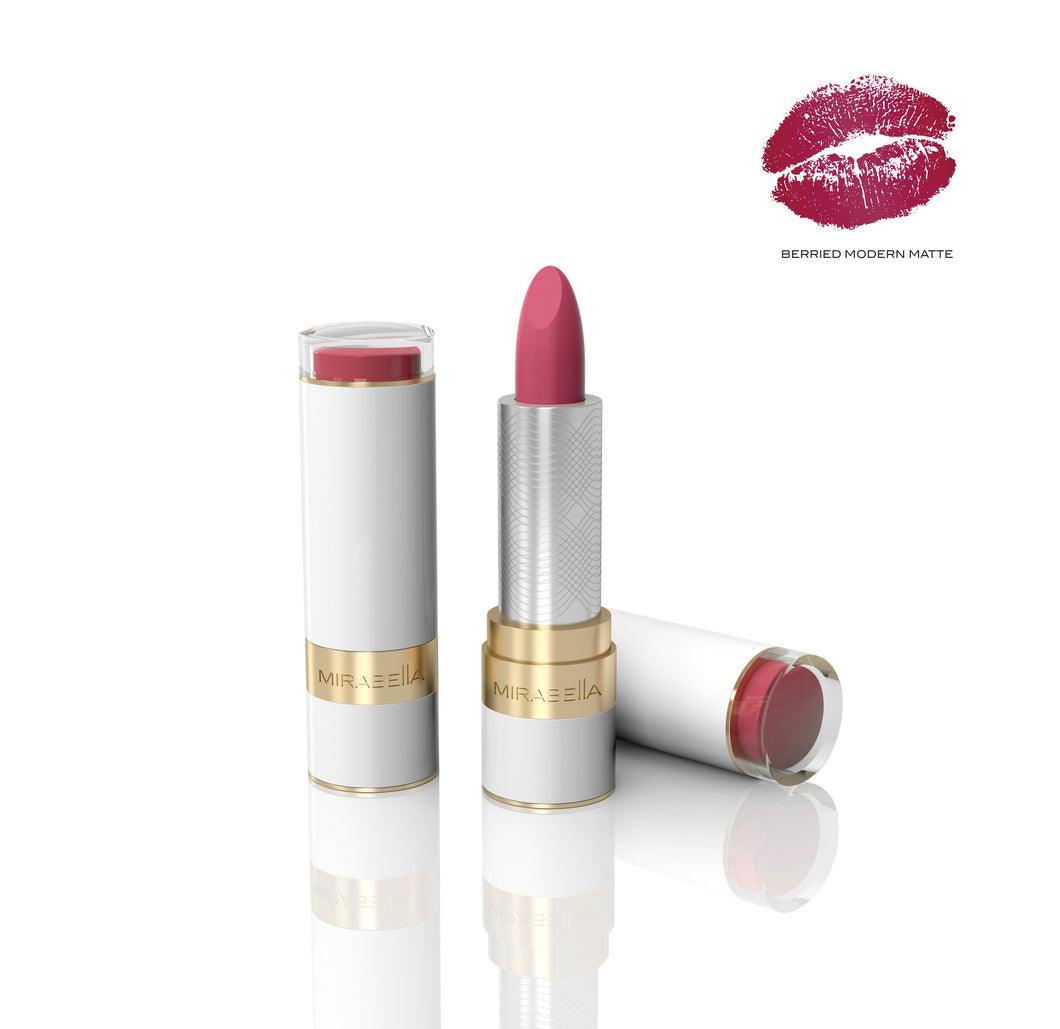 Berried Modern Matte Sealed with a Kiss Lipstick