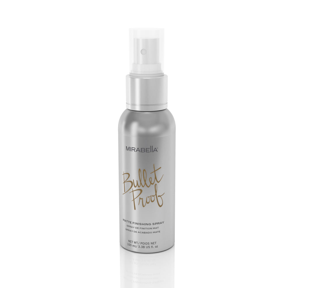 Mirabella Beauty, Mirabella Bride, Bullet Proof Matte Setting Spray