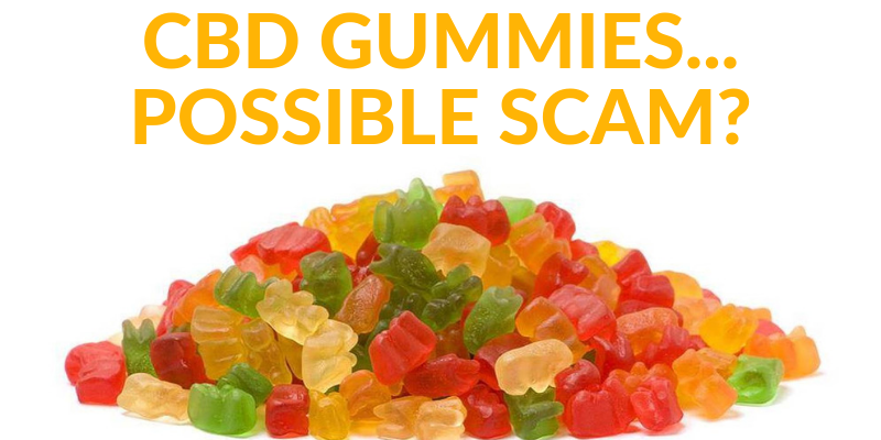 CBD Gummies... Definitely Not Full-Spectrum!