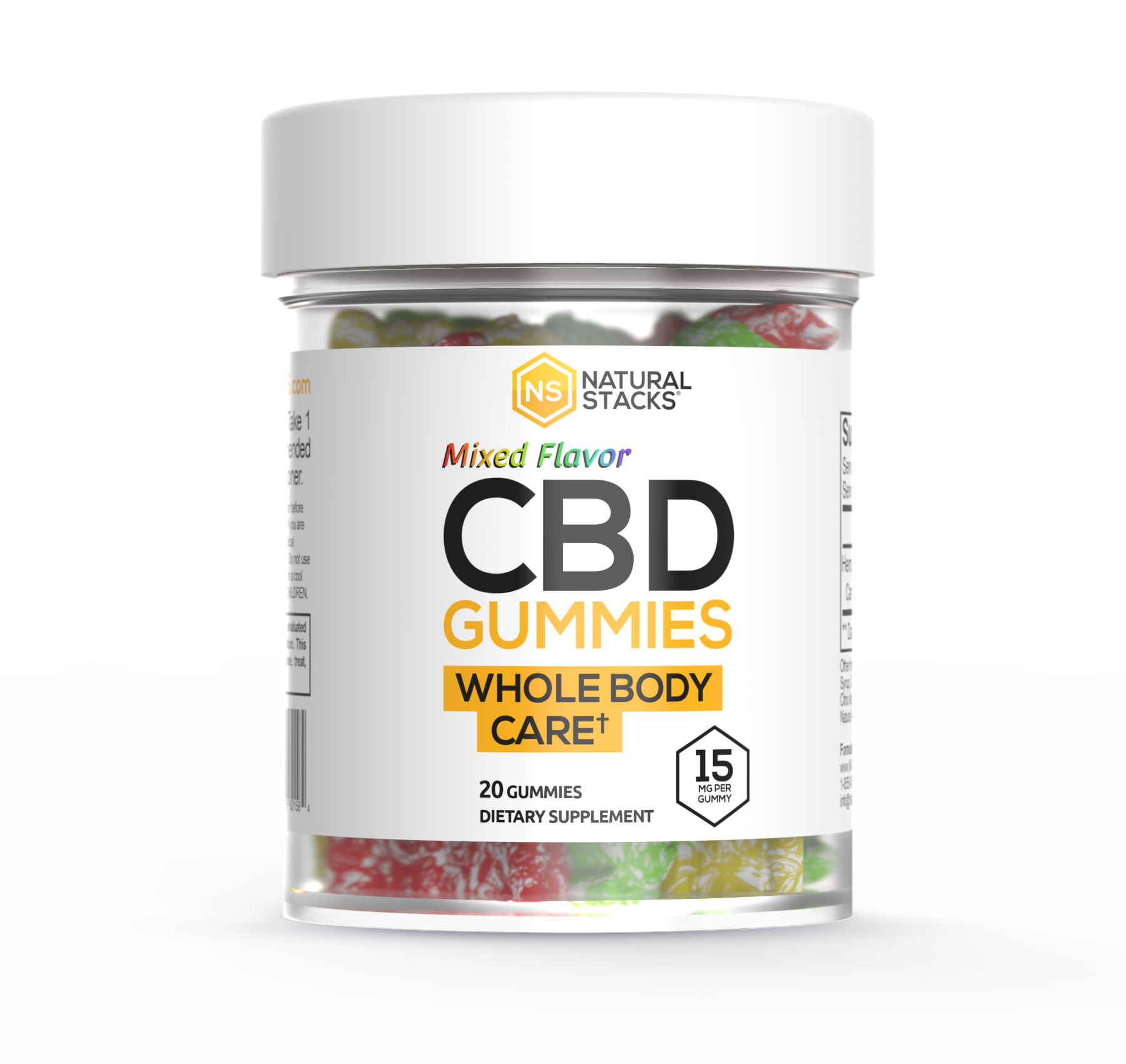 Mixed Flavors CBD Gummies