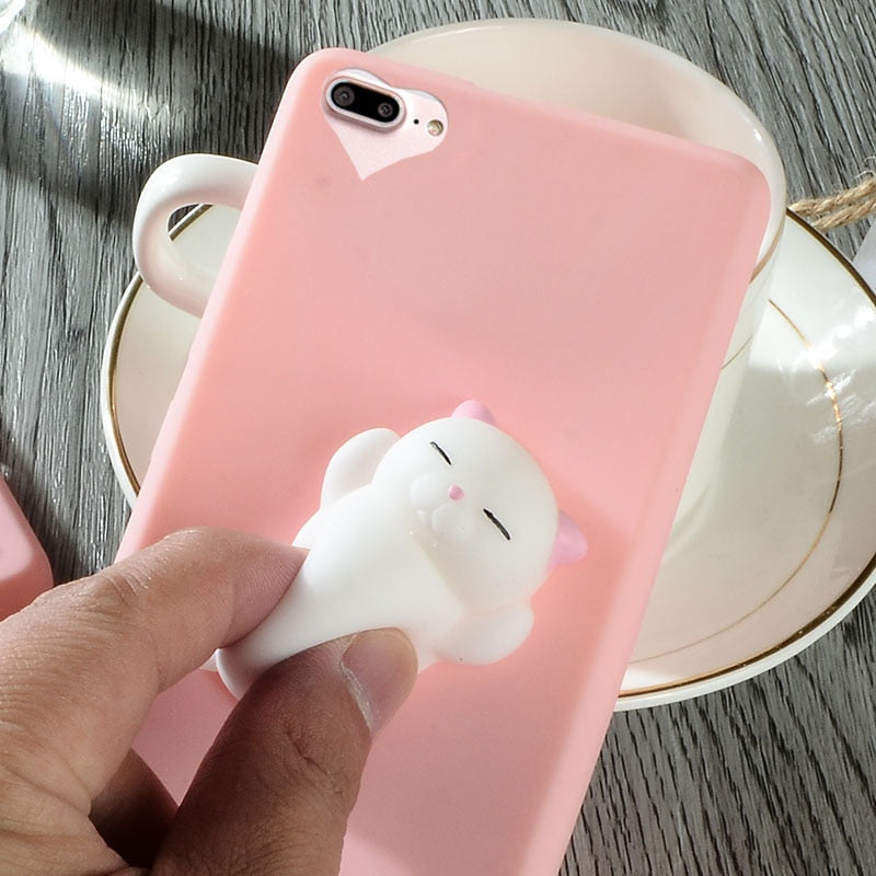 the latest 6d3b5 56c85 3D Squishy Phone Case for iPhone