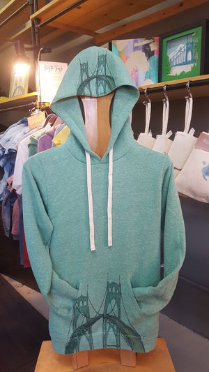St. Johns Bridge Heavyweight Hoodie