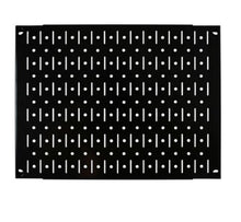Black 12in x 16in Metal Pegboard Tile Fun Size Tool Board Panel - CEG & Supply LLC