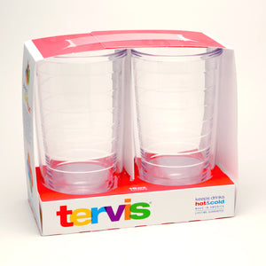 Tervis Tumblers 16 oz Clear Gift Set of 2