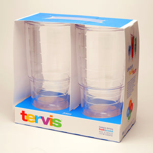 Tervis Tumblers 24 oz Clear Gift 2 Pack - CEG & Supply LLC