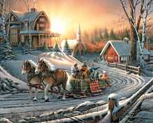 Pleasures of Winter- White Mountain 1000 Pieces - CEG & Supply LLC