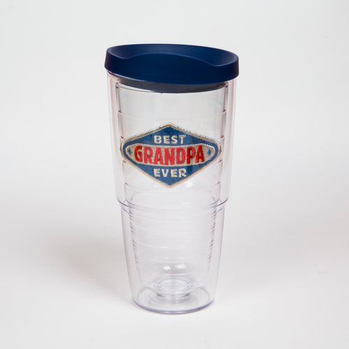Best Grandpa Ever 24oz Tervis with lid - CEG & Supply LLC