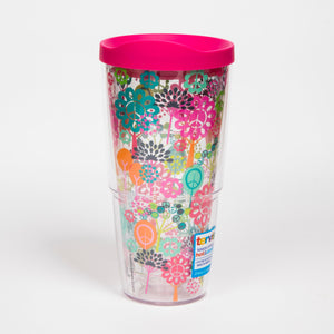 Hallmark - Peace Sign Tree 24oz Tervis - CEG & Supply LLC