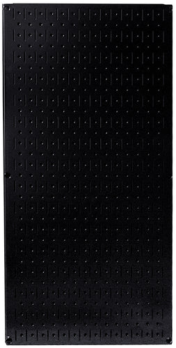 32in x 16in Black Metal Pegboard Tool Board Panel - CEG & Supply LLC