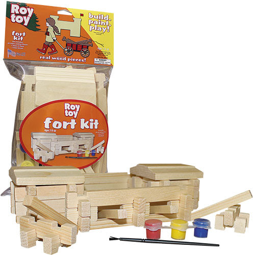 Roy Toy Build and Paint Fort - CEG & Supply LLC