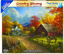 White Mountain Country Blessings Puzzle - CEG & Supply LLC