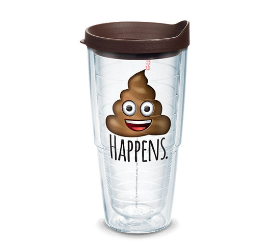 emoji™ - Poop Happens 24oz Tervis - CEG & Supply LLC