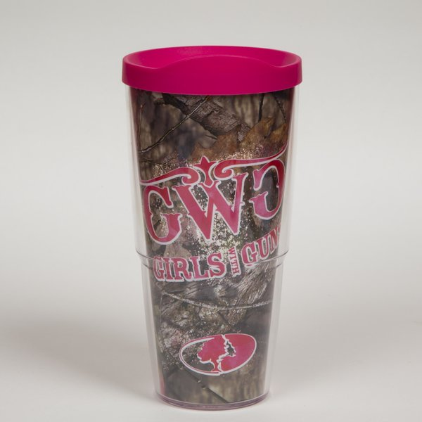 Mossy Oak Girls With Guns 24oz Tervis - CEG & Supply LLC