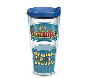 Hallmark - Original Grandpa Wrap With Lid 24oz Tervis - CEG & Supply LLC