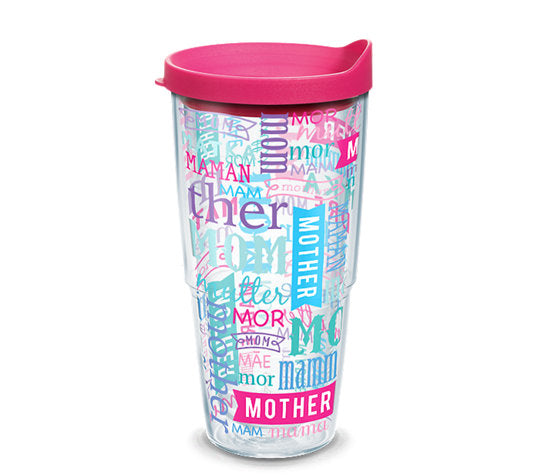 Mom in Different Languages 24oz Tervis