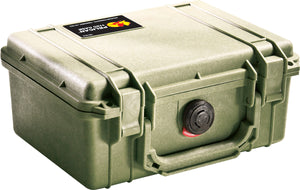 Green Pelican 1150 Protector Case made USA with a lifetime warranty.