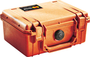 Orange Pelican 1150 Protector Case made USA with a lifetime warranty.