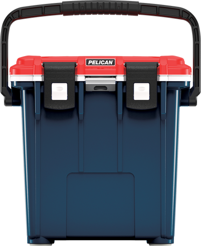 Americana 20qt Pelican cooler, red, white, and blue